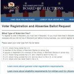 Voter registration and registration updates